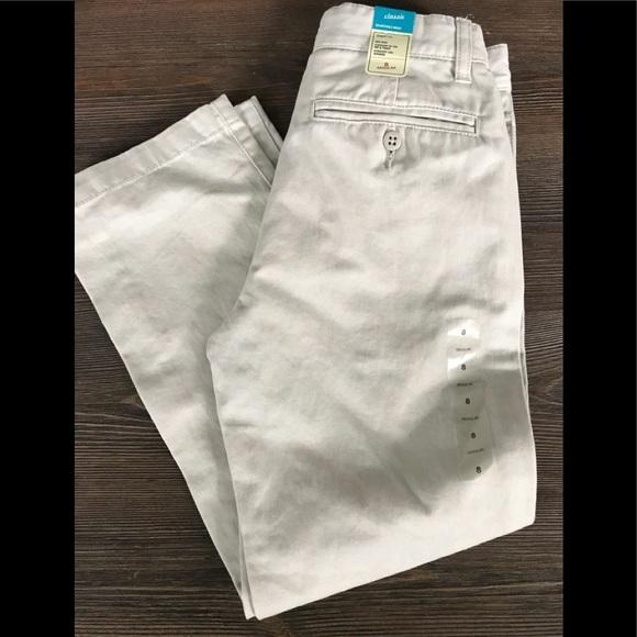 534de01b14417 GAP Bottoms | New Kids Boys Size 8 Khaki School Pants | Poshmark